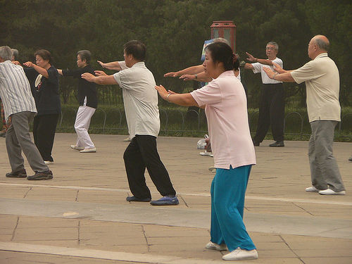 Tai Chi in Bejing photo by Nagyman